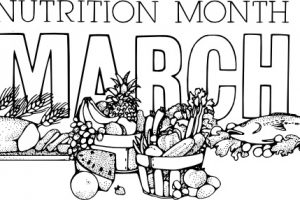nutrition month clipart 4