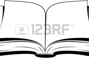 offenes buch clipart 2