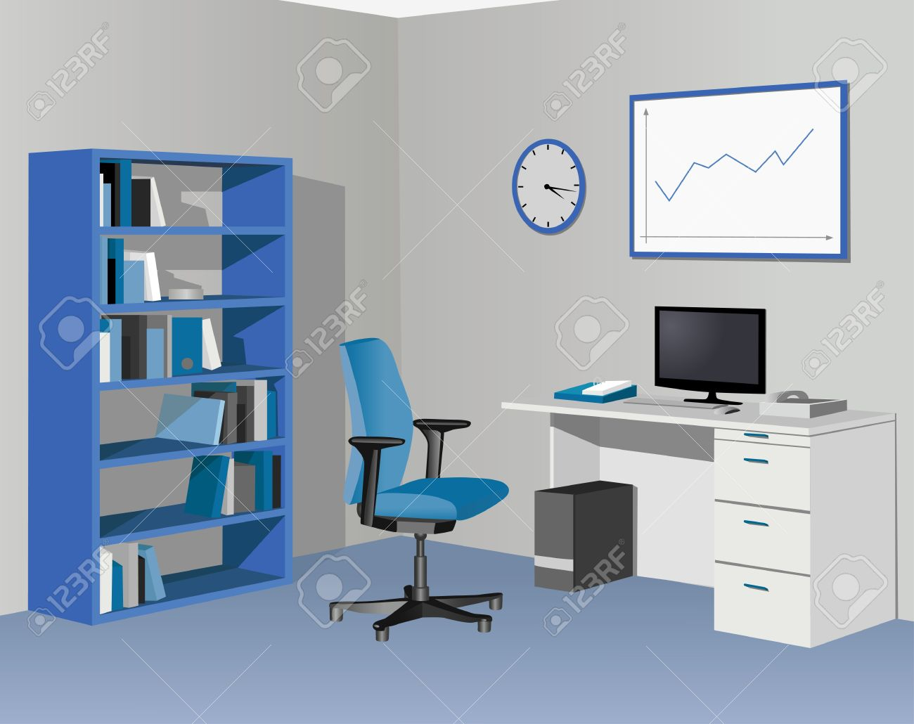 office room clipart 8 | Clipart Station
