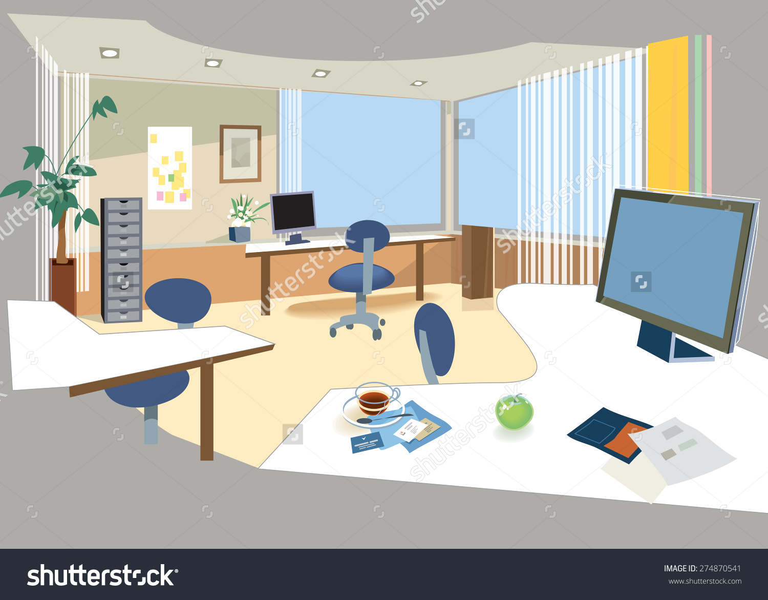 office room clipart 9 | Clipart Station