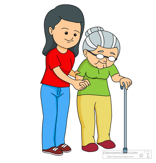 woman helping elderly lady to walk clipart clipart station rh clipartstation com clip art elderly woman clip art elderly people