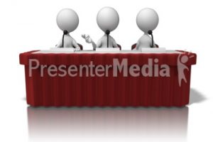 panel discussion clipart 4