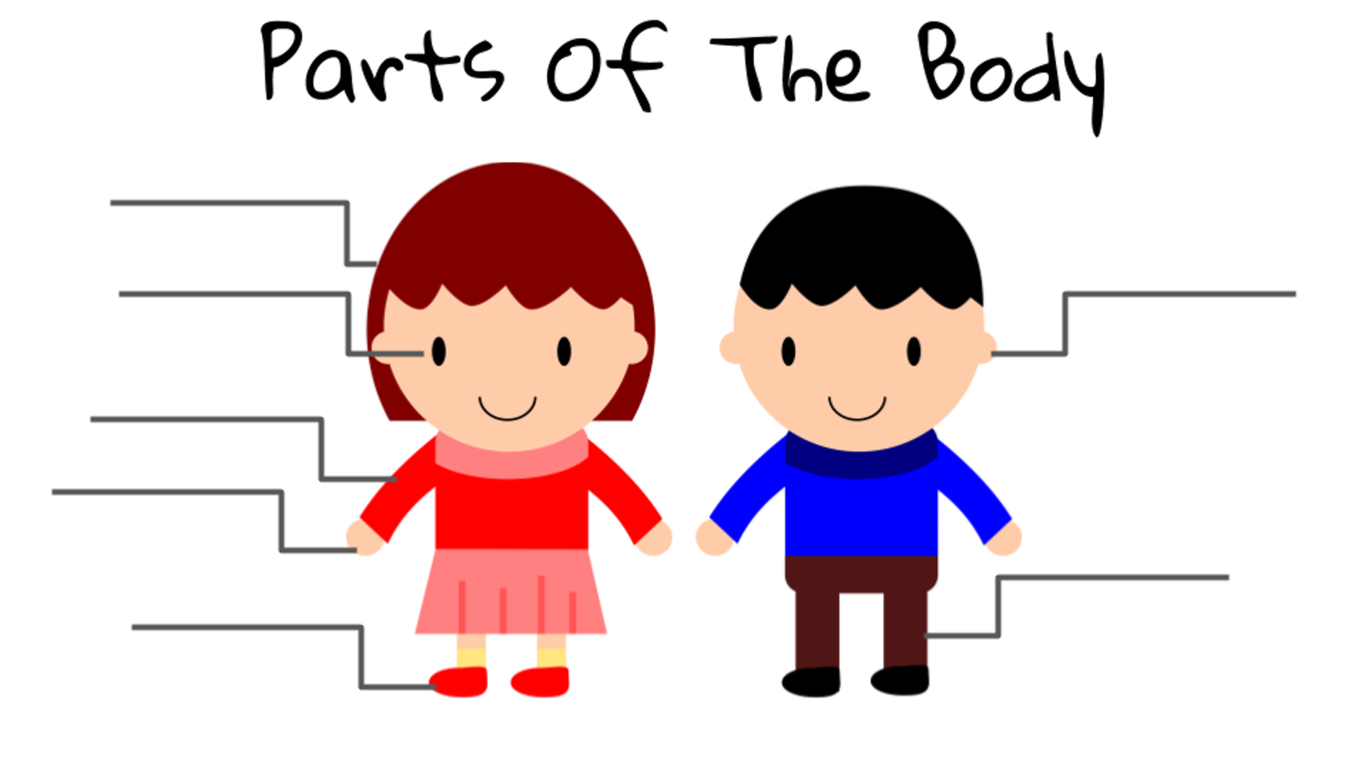 Clip Art Of The Body Parts