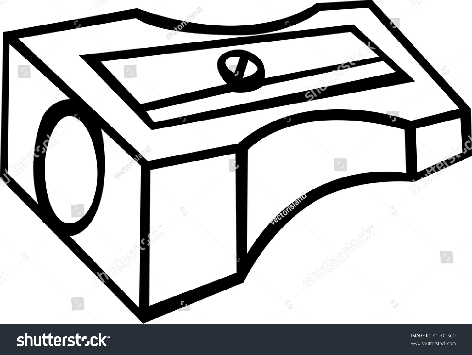Pencil sharpener clipart black and white how to format for Pencil sharpener coloring page