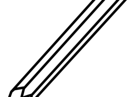pencils clipart black and white 5