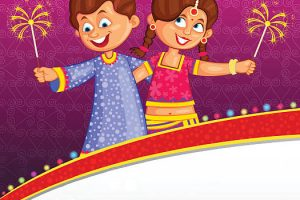 people celebrating diwali clipart 6