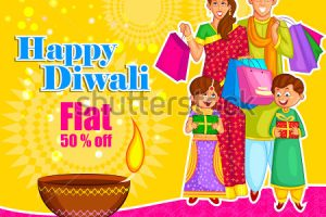 people celebrating diwali clipart 8