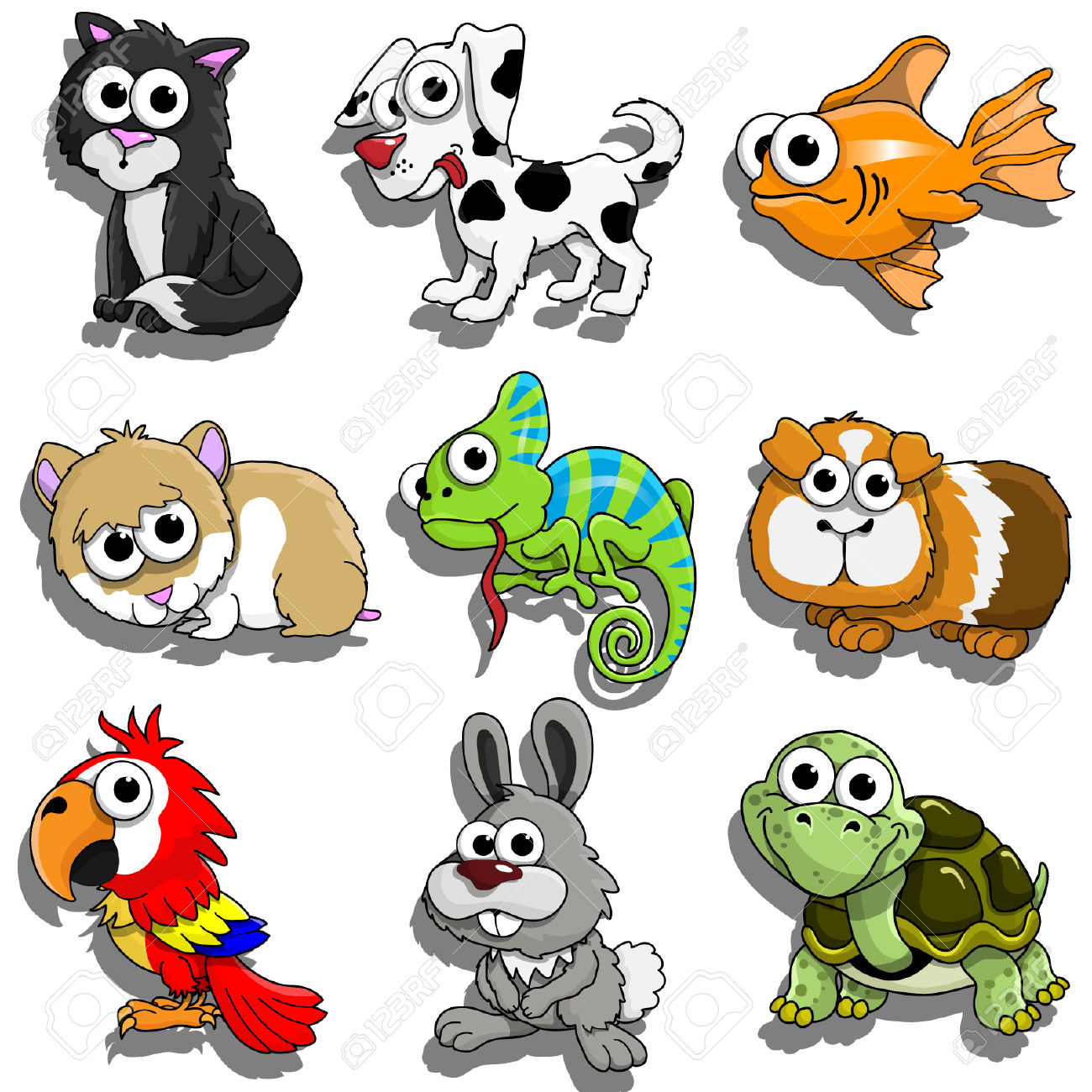 Pet animals clipart 7 » Clipart Station