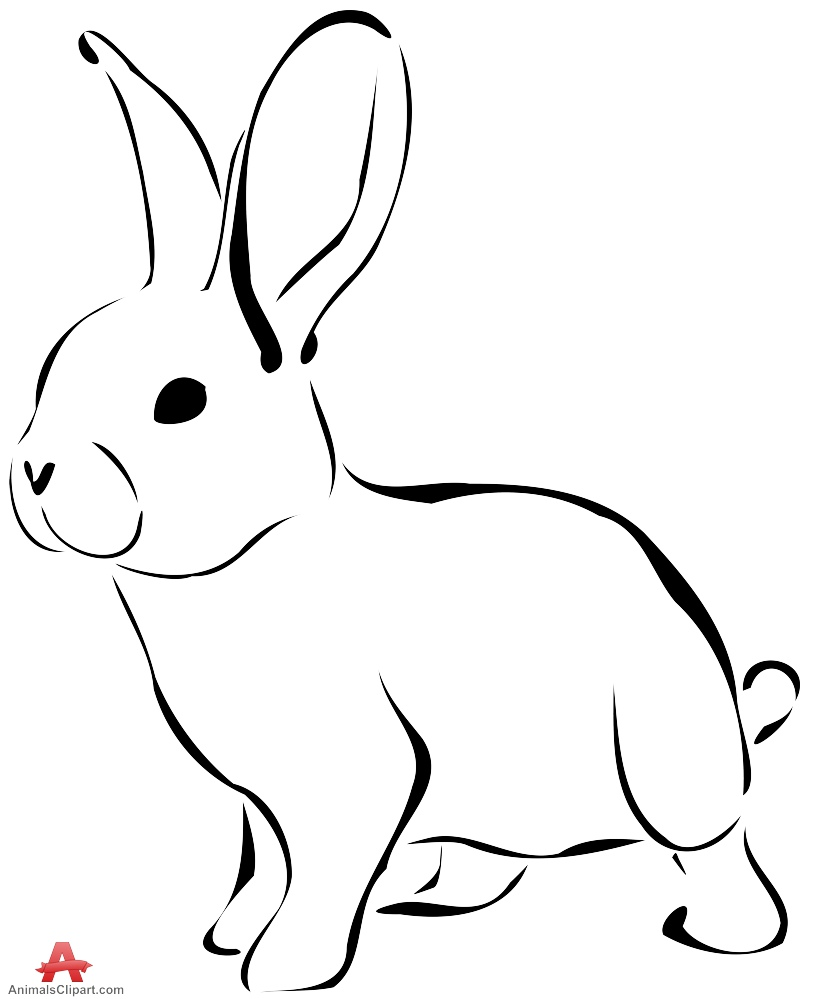 Pet Animals Clipart Black And White 1 Clipart Station