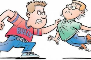 physical bullying clipart 1