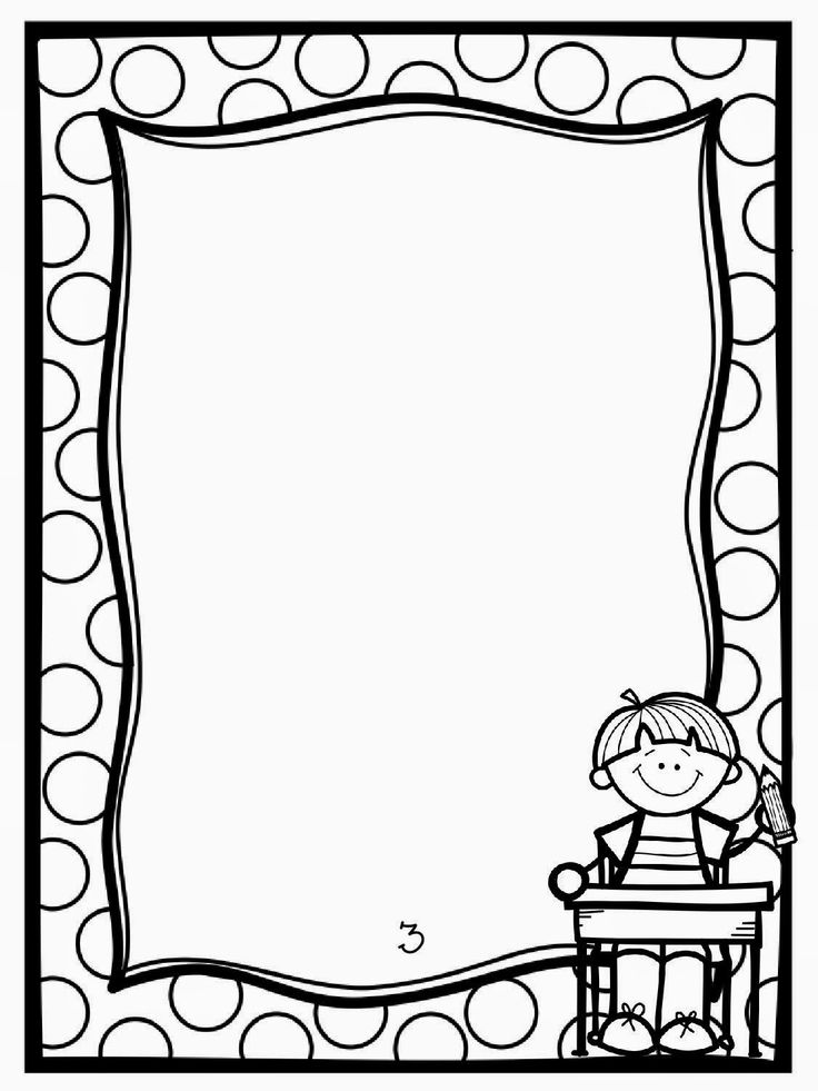 Picture Frame Clipart Black And White 4