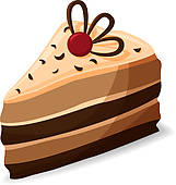 piece of cake clipart 1
