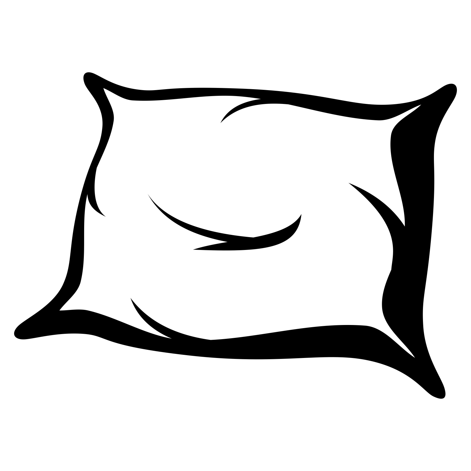 pillow clipart black and white | Clipart Station for Pillow Clipart Black And White  34eri