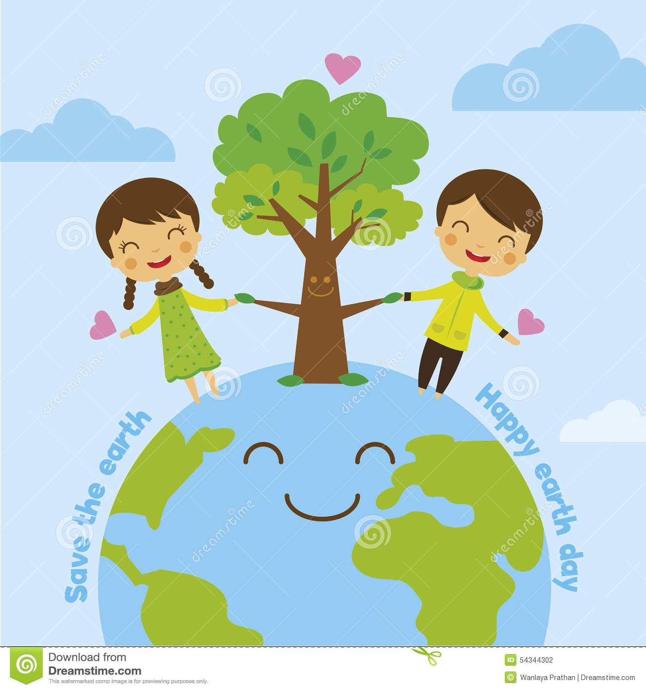 Plant Trees Save Earth Clipart 11 Clipart Station