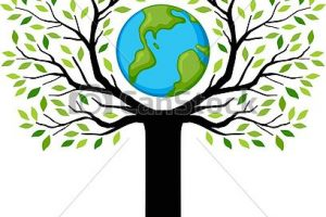 plant trees save earth clipart 4