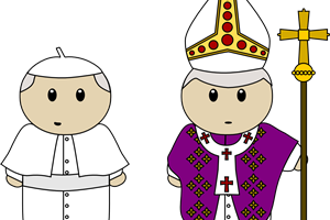 pope clipart 1