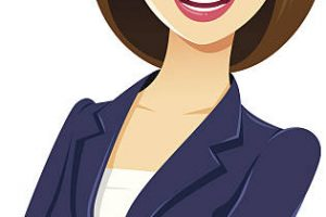 professional woman clipart