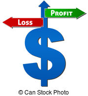 profit and loss clipart 11