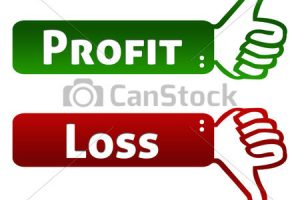 profit and loss clipart 3