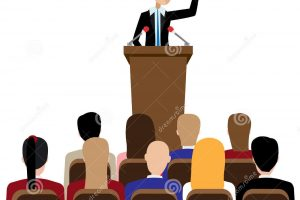 public speaking audience clipart