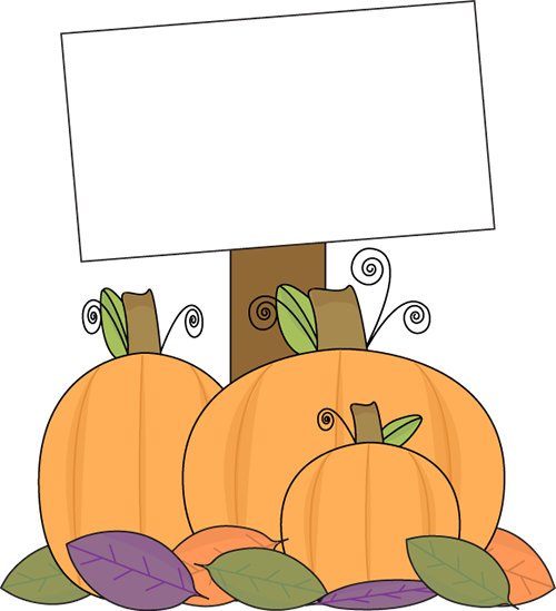 Pumpkin patch. Clipart station