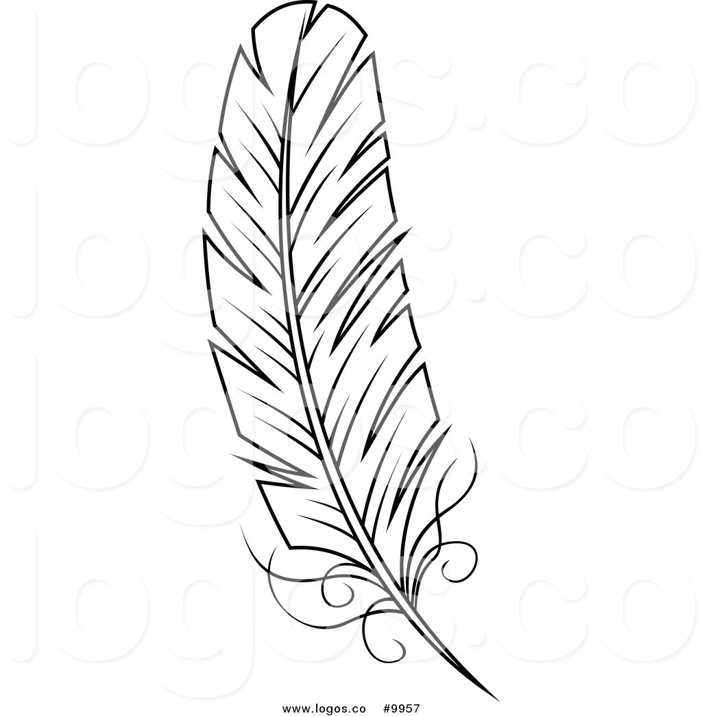 quill clipart black and white 3 clipart station