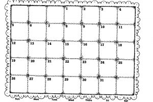quilt clipart black and white 8