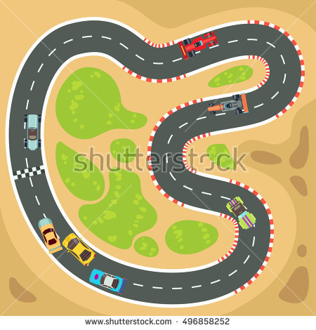 Race track clipart 8 » Clipart Station