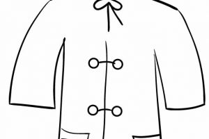 Raincoat Clipart Black And White 7 Clipart Station