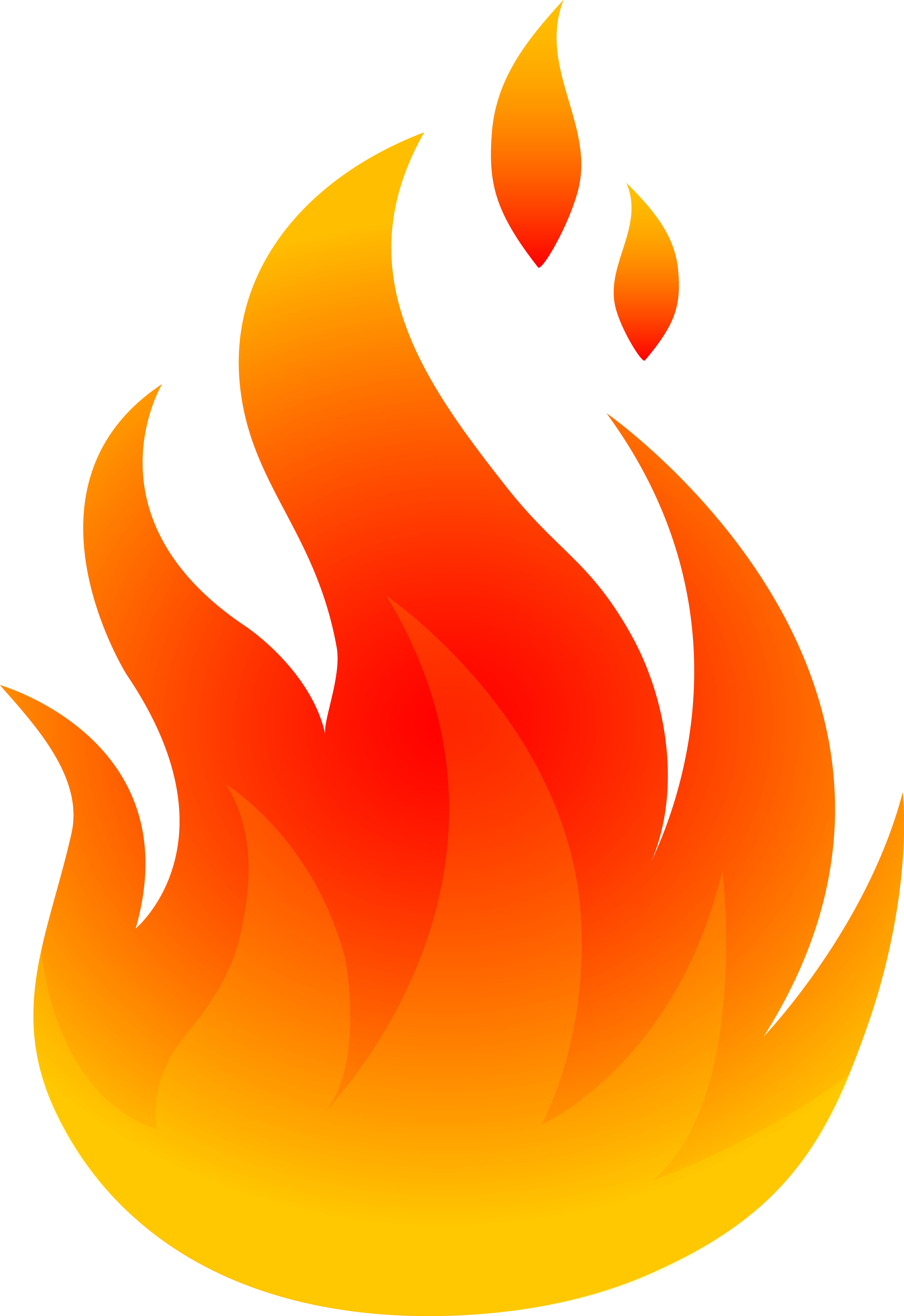 realistic fire flames clipart 2