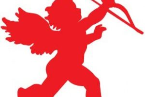 red cupid clipart