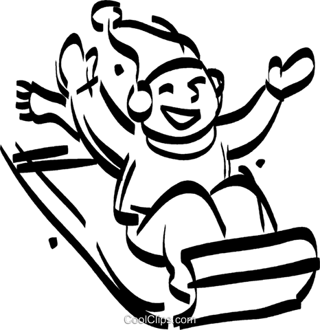 Rodeln clipart 3 » Clipart Station