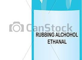 rubbing alcohol clipart 2