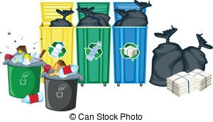 rubbish bin clipart 2