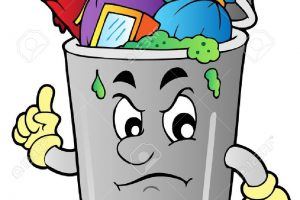 rubbish bin clipart 4