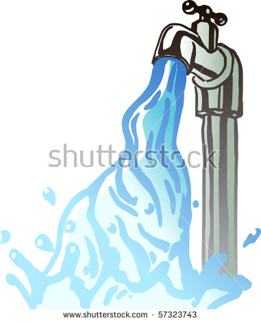 running water tap clipart 9   Clipart Station