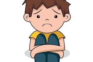 sad boy clipart 1