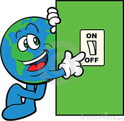 Save Electricity Clipart 12