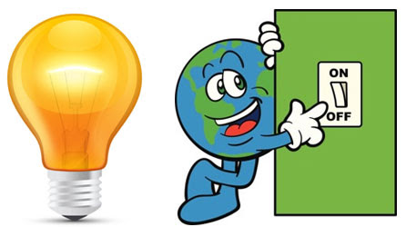Save Electricity Clipart 2