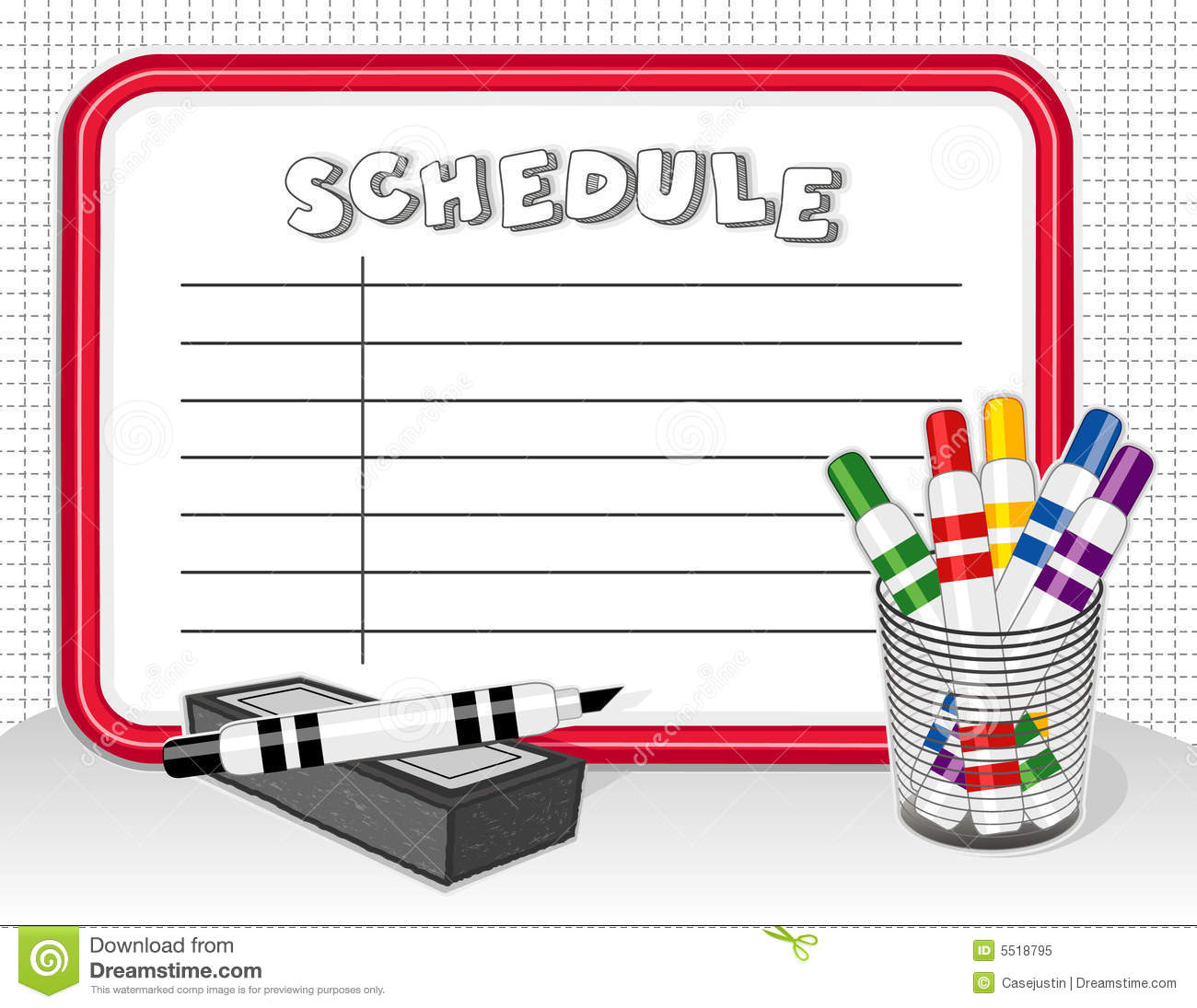Image result for clipart schedule