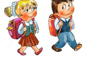 school boy and girl clipart 7