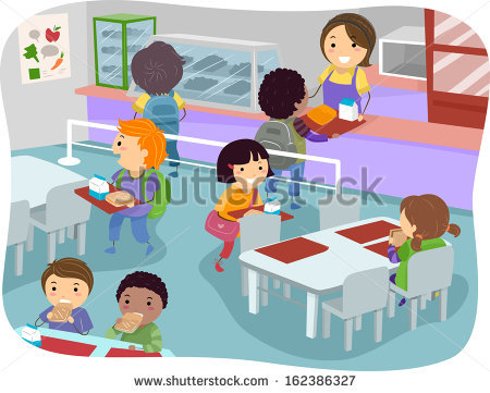 School Canteen Clipart Black And White 2 Clipart Station