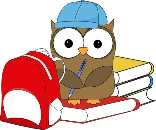 School owl clipart 2 » Clipart Station
