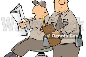 school security guard clipart 6