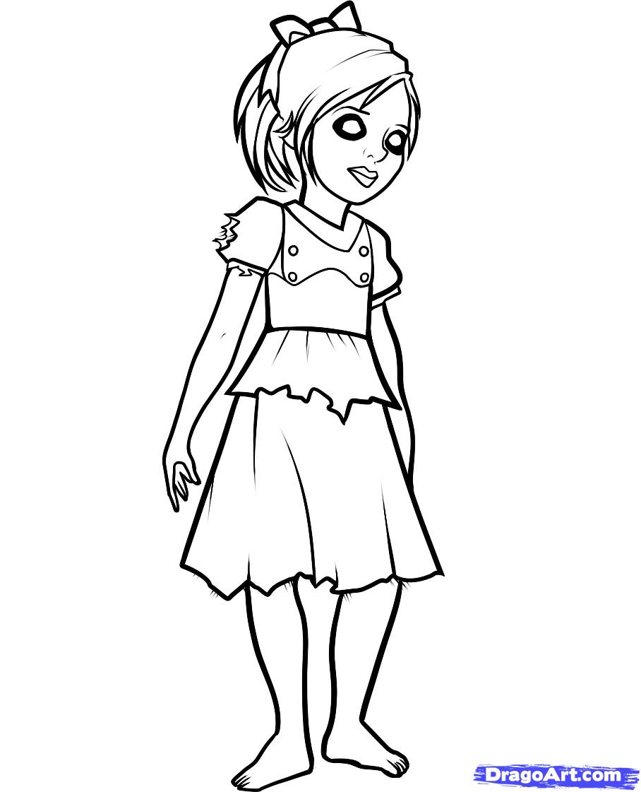 Mother Father And Daughter Coloring Page