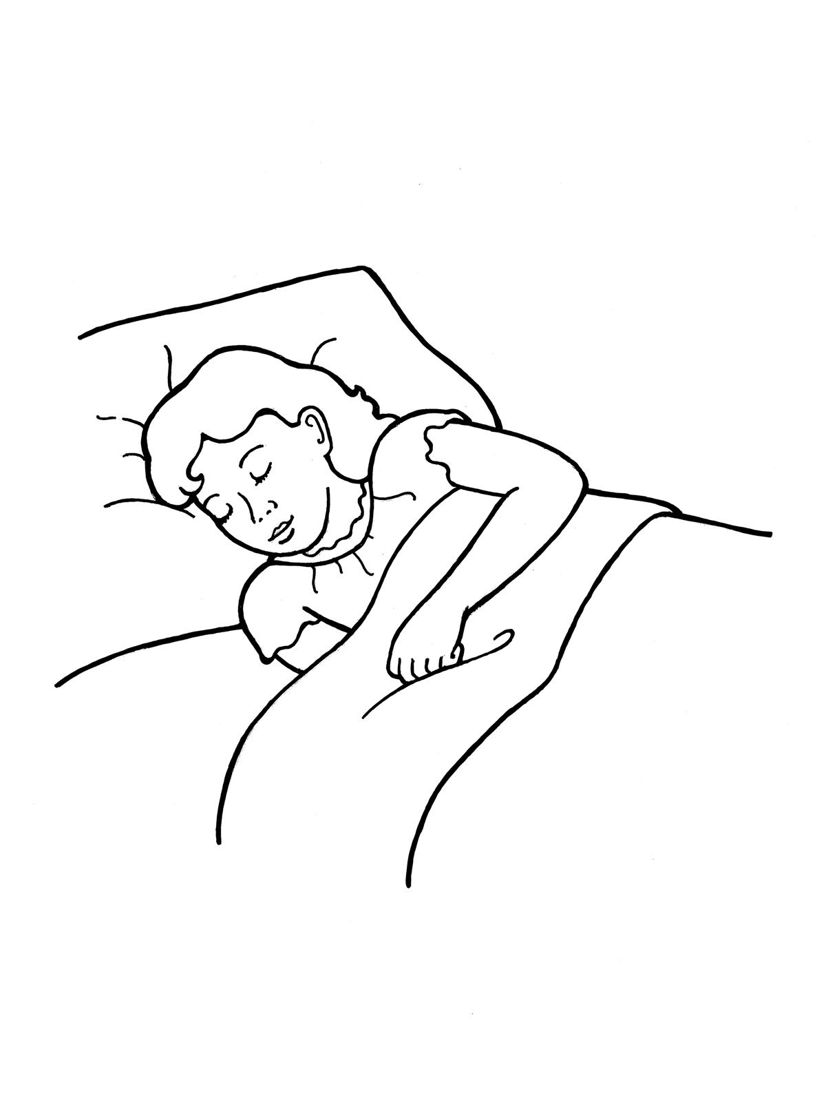 sleep clipart black and white 4  u00bb clipart station