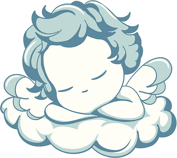 sleeping baby angel clipart 1 | Clipart Station