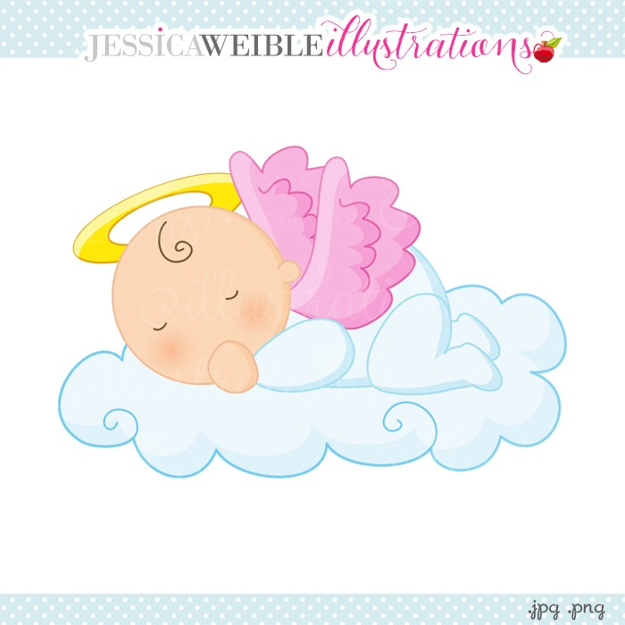 sleeping baby angel clipart 10 | Clipart Station