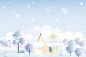 snowy day clipart 7