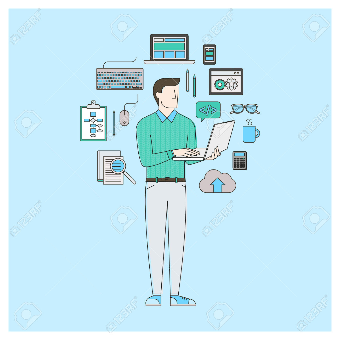 Software Engineer Clipart 12 » Clipart Station